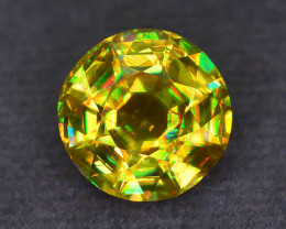Top Class Brilliance 3.66 ct Sphene in Precision Cut Sku-54