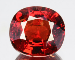 ~DAZZLING~ 1.18 Cts Natural Vivid Red Spinel Cushion Cut Burmese