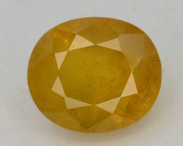 Top Clarity & Color 2.40 ct Rarest Yellow Sapphire~Sri Lanka