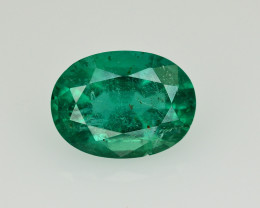 3 Ct Brilliant Color Natural Zambian Emerald_ SM