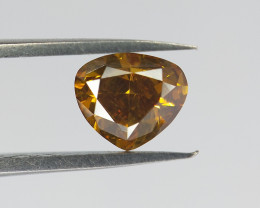Fancy Shape Diamond , Modified Pear Brilliant Cut , 0.46 cts