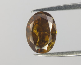 Oval natural Diamond , Diamond for Jewelry , 0.43 cts