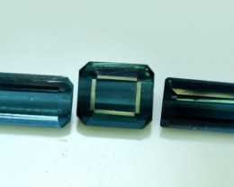 NR Auction 2.85 CT Top Quality Indicolite Tourmaline Natural Gemstone