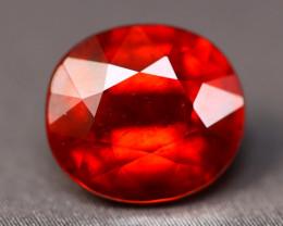 Spessartite Garnet 3.87Ct Natural Vivid Red Spessartite Garnet B1734