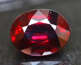 Rhodolite 4.22Ct Natural Cherry Red Rhodolite Garnet E1908/B3