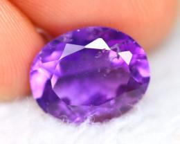 Amethyst 3.30Ct Natural Uruguay Electric Purple Amethyst E1913/C1