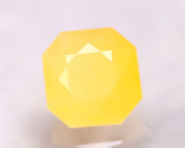 Fire Opal 1.63Ct Natural Faceted Mexican Yellow Fire Opal E1922/A2