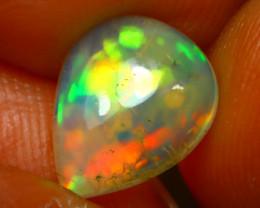 Welo Opal 1.89Ct Natural Ethiopian Play of Color Opal E1932/A28