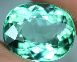 4.38 CT CERTIFIED  Copper Bearing Mozambique Paraiba Tourmaline-PR706