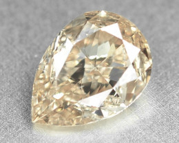 0.78 Cts Untreated Natural Fancy Light Brownish Pink Color Loose Diamond