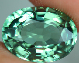 5.93 CT CERTIFIED  Copper Bearing Mozambique Paraiba Tourmaline-PR716