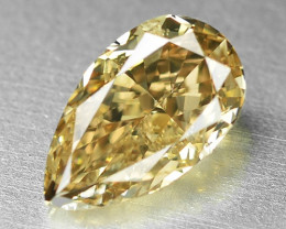 0.78 Cts Untreated Natural Fancy Brown Color Loose Diamond
