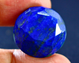 32.55 CT Unheated ~ Natural Blue  color Lapis  Lazuli  Cut Stone