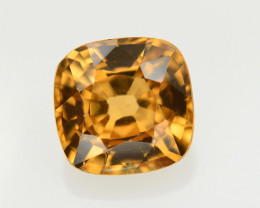 1.95 Ct Amazing Color Natural Brown Zircon