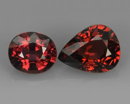 4.30 CTS~EXQUISITE NATURAL UNHEATED RED COLOR RHODOLITE GARNET!!