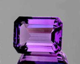 20x15 mm Octagon 18.85cts Purple Amethyst [VVS]