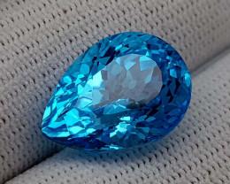 17.05CT BLUE TOPAZ  BEST QUALITY GEMSTONE IIGC01