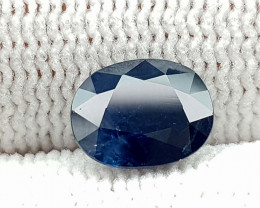1.65CT NATURAL BLUE SAPPHIRE HEATED  BEST QUALITY GEMSTONE IIGC01