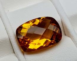 6.45Crt Madeira Citrine Natural Gemstones JI101