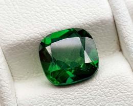 2.25Crt Green Topaz Coated Natural Gemstones JI101
