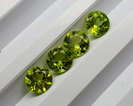 3.45Crt Peridot Calibrated Lot  Natural Gemstones JI101