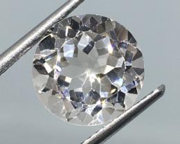 5.10 Carat VVS Topaz - Diamond White Color Precision Cut and Polish !