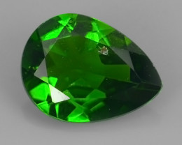 private Auction~1.35 ~Cts MARVELOUS RARE NATURAL TOP GREEN- CHROME DIOPSIDE