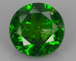 1.30 CTS ATTRACTIVE ULTRA RARE NATURAL CHROME DIOPSIDE OCTAGON RUSSIA!!
