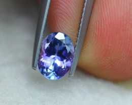 1.22ct Natural Violet Blue Tanzanite Oval Cut Lot V6390