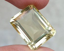 16.25 CT LEMON QUARTZ Top Quality Gemstone Natural Untreated VA736