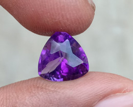 CHECKERED CUT AMETHYST TOP QUALITY 100% NATURAL GEMSTONE VA752