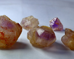 301.65 CT Natural Unheated Purple Amethyst Crystal Rough  lot