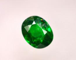 Tsavorite 0.77Ct Natural Intense Vivid Green Color Tsavorite Garnet D2025/B