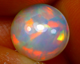 Welo Opal 1.72Ct Natural Ethiopian Play of Color Opal D2037/A28