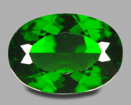 5.35 Cts Natural Green Color Chrome Diopside Loose Gemstone
