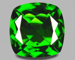2.08 Cts Natural Green Color Chrome Diopside Loose Gemstone