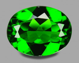 2.50 Cts Natural Green Color Chrome Diopside Loose Gemstone