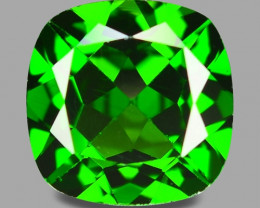 2.66 Cts Natural Green Color Chrome Diopside Loose Gemstone