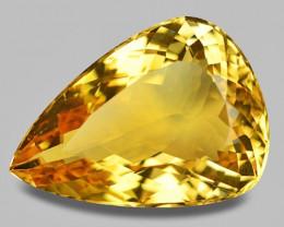 23.47 Cts Natural Amazing Rare Golden Yellow Beryl Loose Gemstone