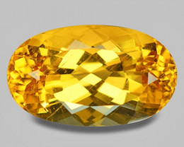17.27 Cts Natural Amazing Rare Golden Yellow Beryl Loose Gemstone