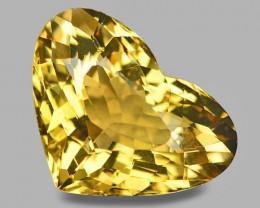 11.44 Cts Natural Amazing Rare Golden Yellow Beryl Loose Gemstone