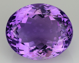 10.00 Cts Sparkling  Amethyst Brilliant Color and Cut ~ AM7