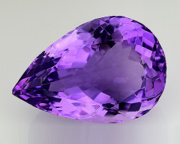 9.77 Cts Sparkling  Amethyst Brilliant Color and Cut ~ AM15