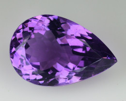9.37 Cts Sparkling  Amethyst Brilliant Color and Cut ~ AM16