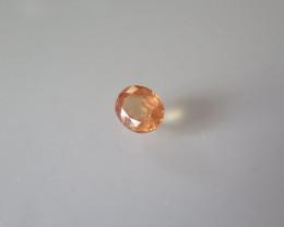 Natural orange sapphire 1.60ct