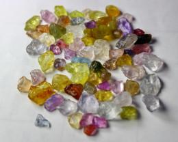 51.10 CT Natural - Unheated  Multi Sapphire Rough Lot
