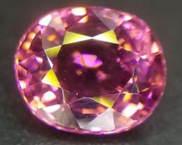 Turmalin, 1.00ct, schönes Pink, sehr sauber!