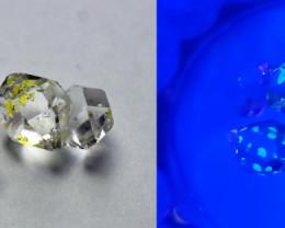 5.80 CT Natural - Unheated Petroleum Quartz Quartz Crystal Lot
