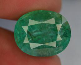 GSGC ~ Certified  AAA Grade 19 ct Huge Size Natural Emerald