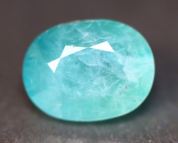 Grandidierite 3.03Ct Natural Seaform Blue Madagascar Rare Gemstone BN152
